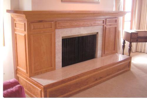 Cherry Fireplace