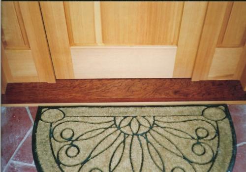 Custom Front Door - Threshold