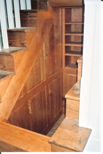 Munster Stairs - Left Side