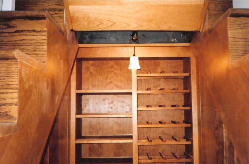 Munster Stairs -Wine Rack