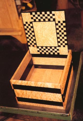 Checker Box open