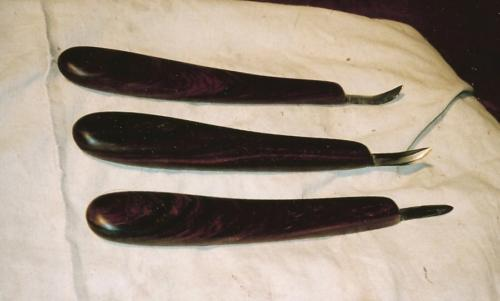 Cocobolo Carving Knife