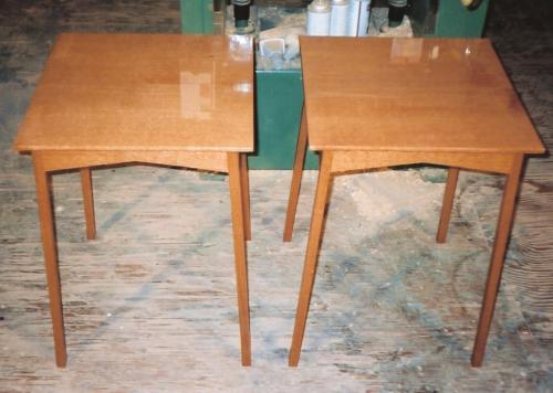 Lacewood Side Tables
