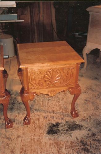 Philadelphia Chippendale Bedside Table
