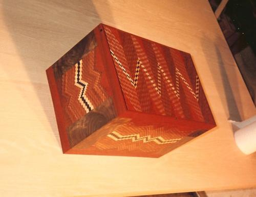 Zig Zag Box side