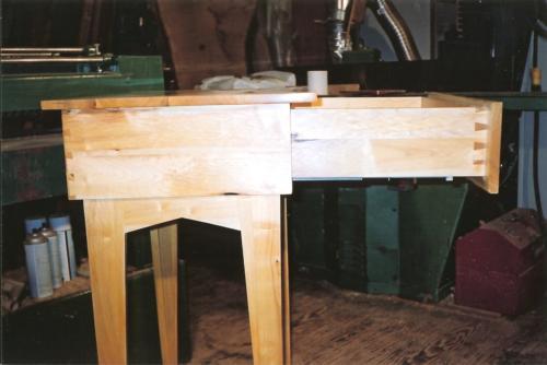 Cascara table